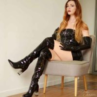 dominatrice en latex