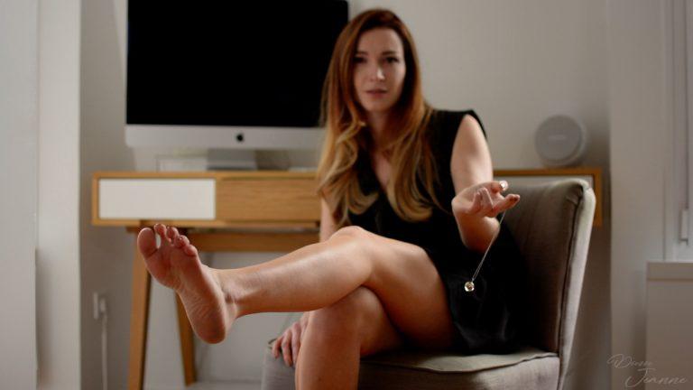 séance d'hypnose fétichisme des pieds