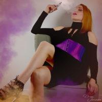 dominatrice fumeuse