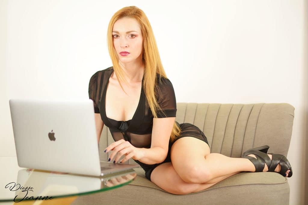séance domination webcam