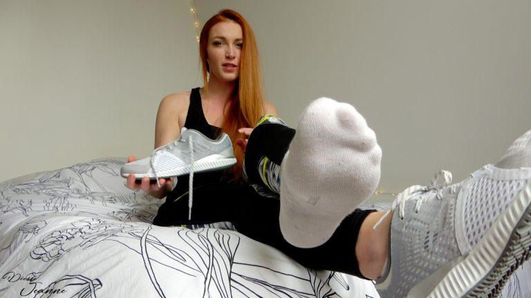deviens accro à mes pieds après le sport