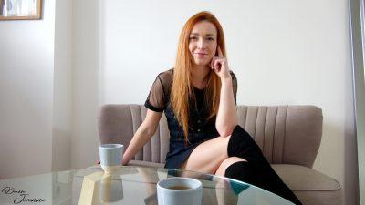 femme rousse lesbienne en cuissardes