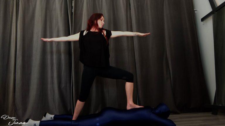 esclave déshumanisé tapis de yoga